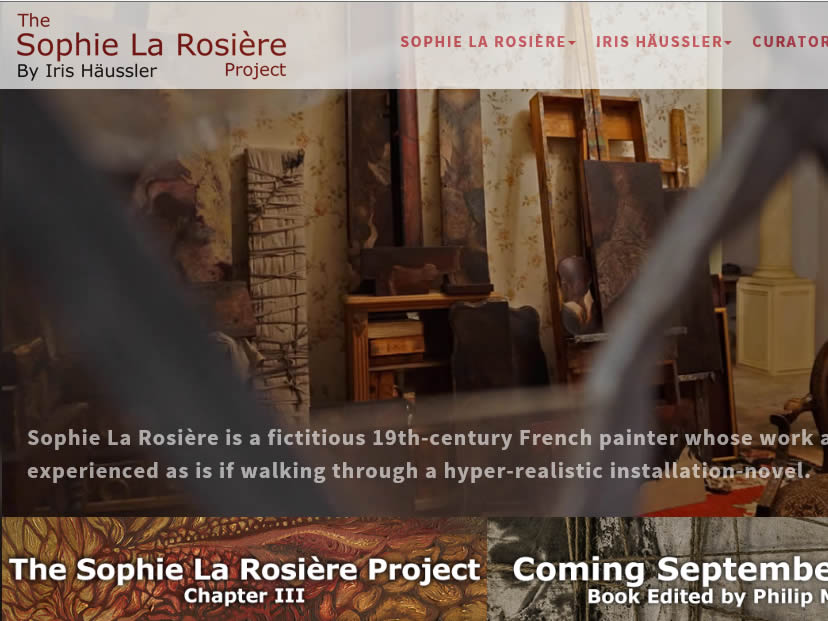 Frontpage of Sophie La Rosiere Project by 13jupiters